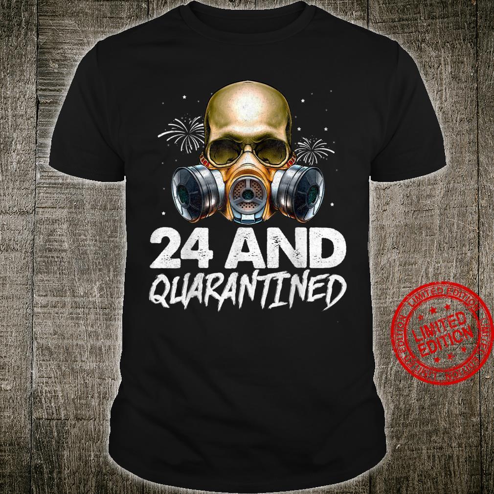 40th Quarantine Birthday Skull Shirt