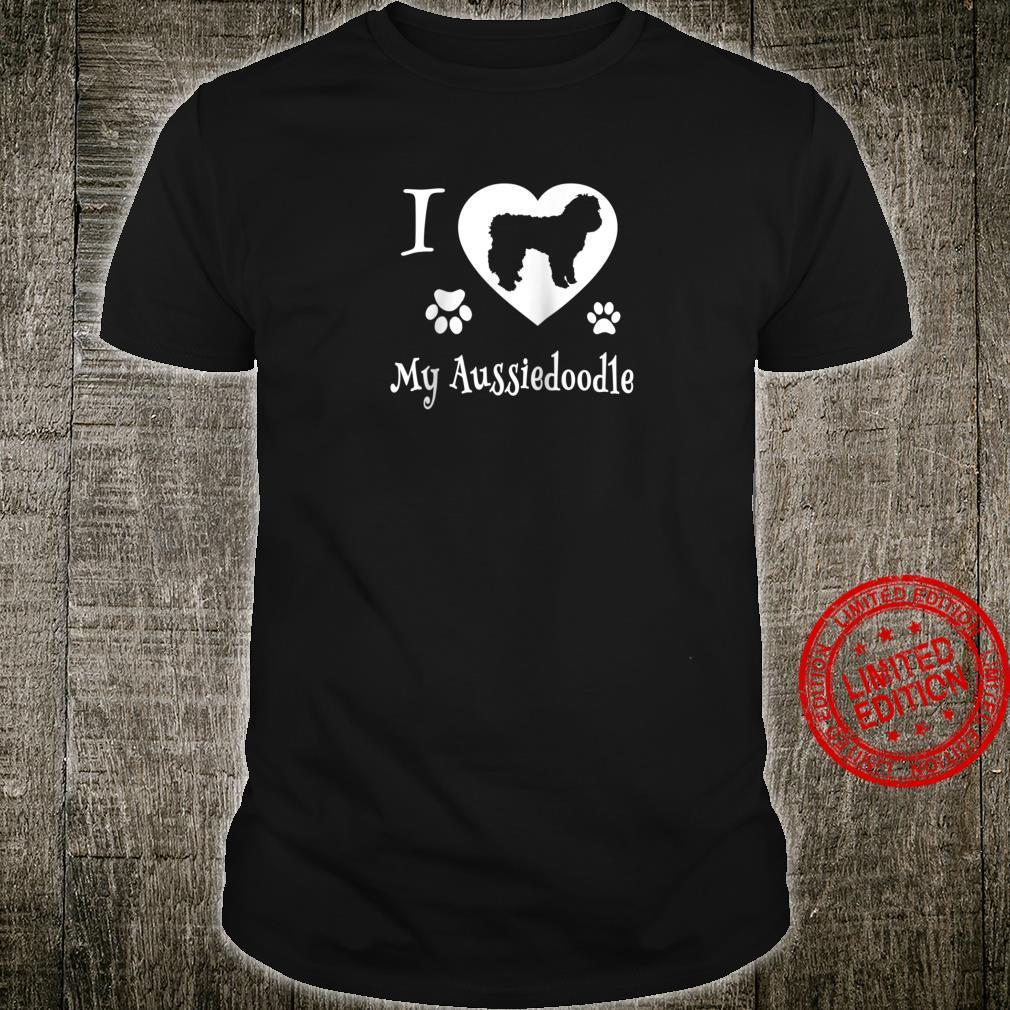 Aussiedoodle Shirt Design for Aussiedoodle Dogs Shirt