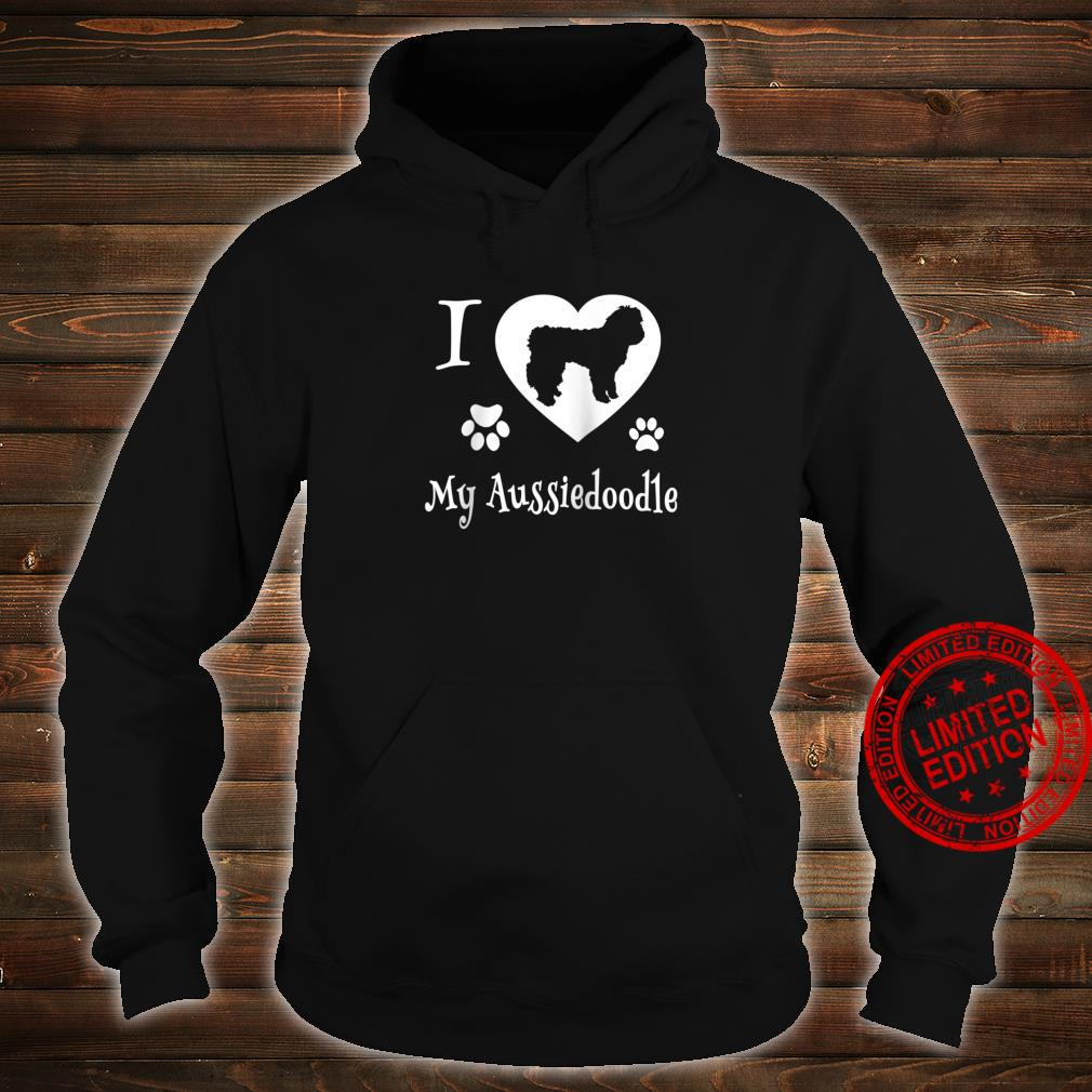 Aussiedoodle Shirt Design for Aussiedoodle Dogs Shirt hoodie