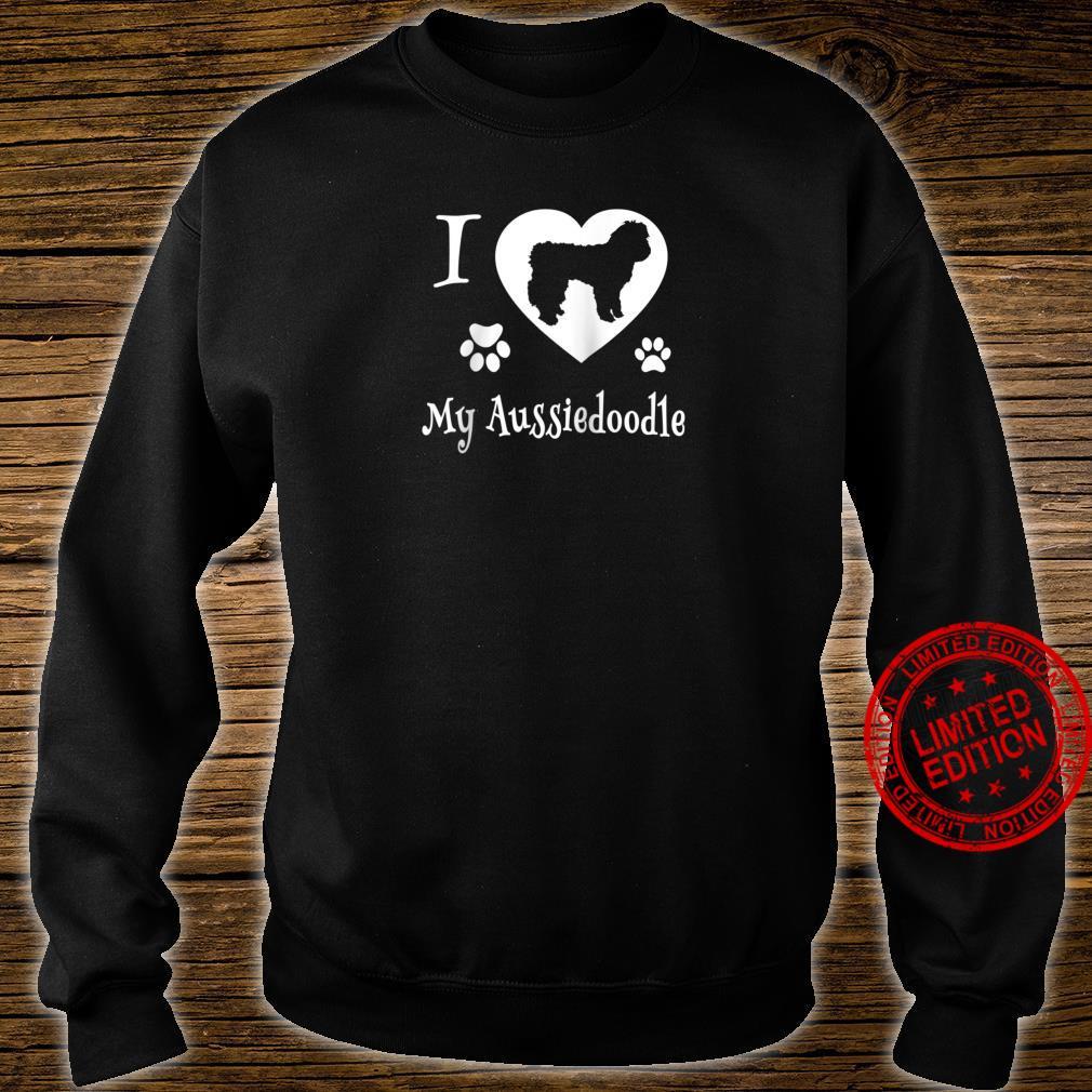 Aussiedoodle Shirt Design for Aussiedoodle Dogs Shirt sweater