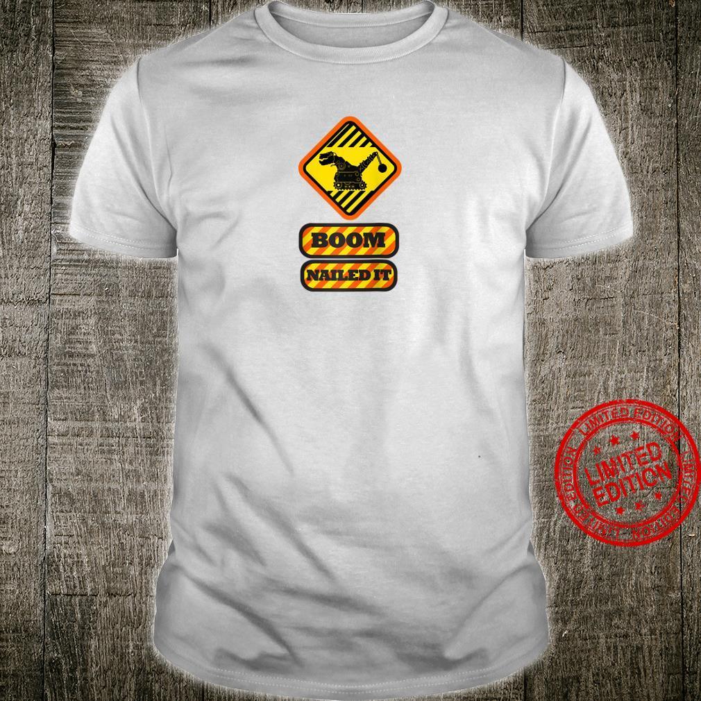 DinoTrux Boom Nail It Shirt