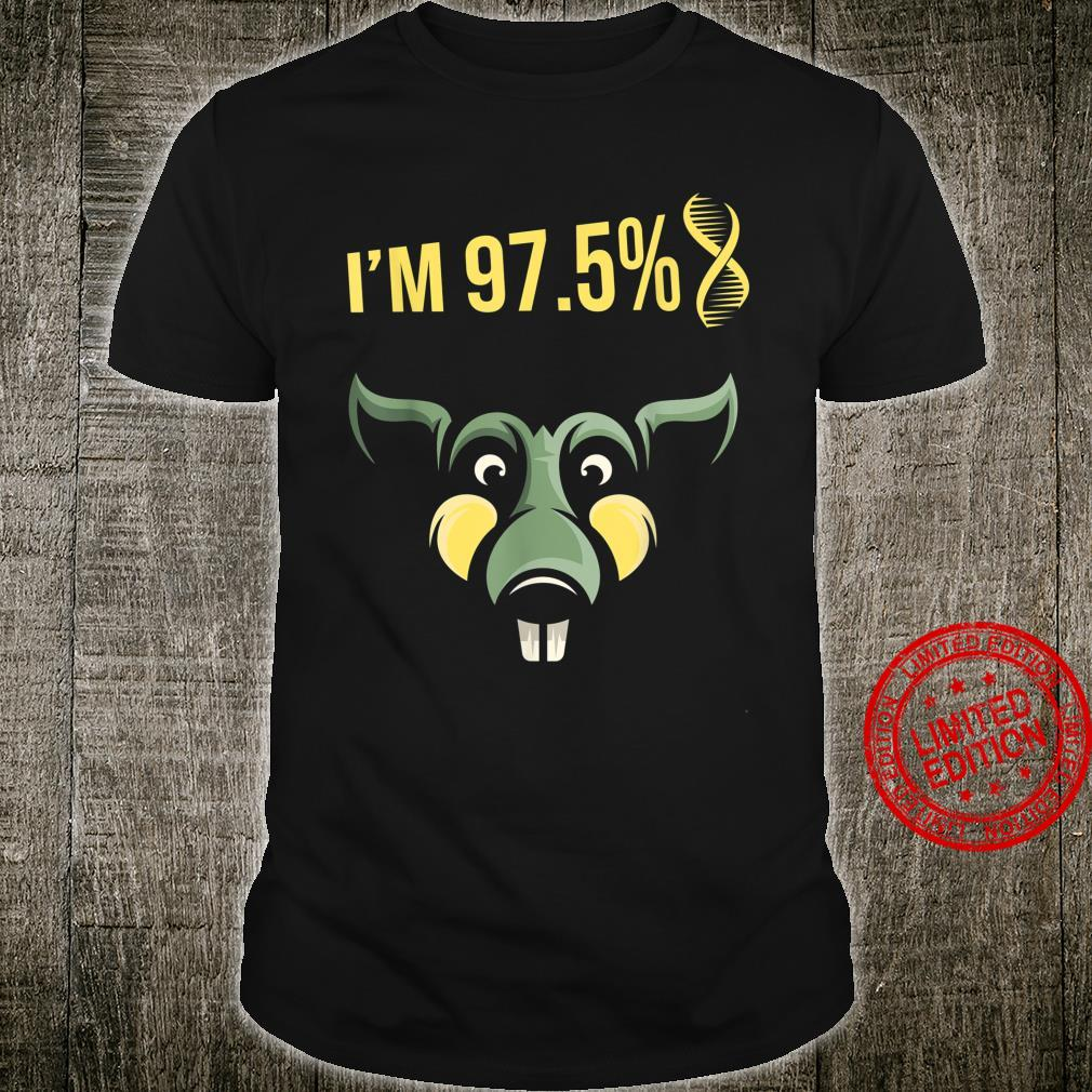 I'm 97.5% Rat Mouse Mice DNA House Rodent Animal Shirt