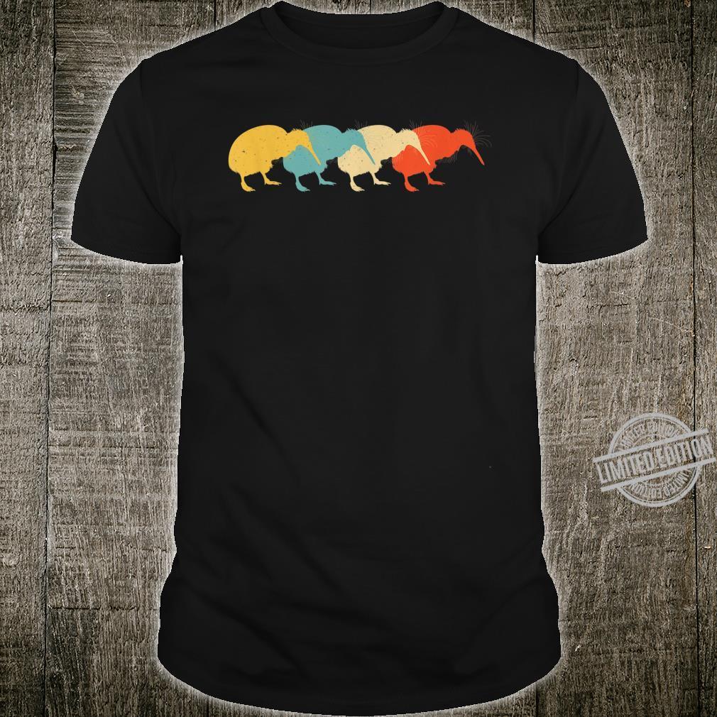 Kiwi Vintage Retro Bird Animal 60s 70s Shirt