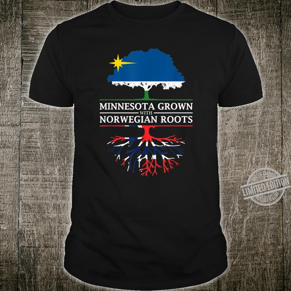 Minnesota Grown with Norwegian Roots Norway Shirt
