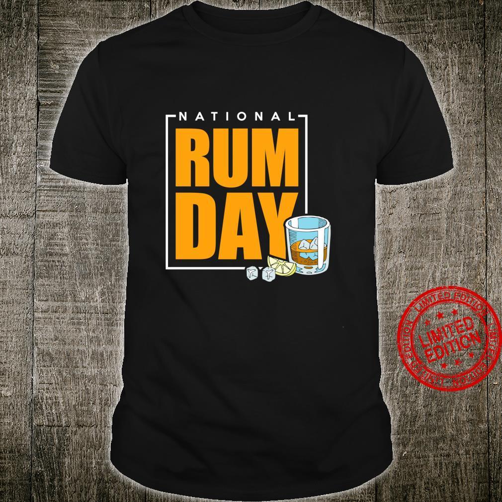 National Rum Day Shirt