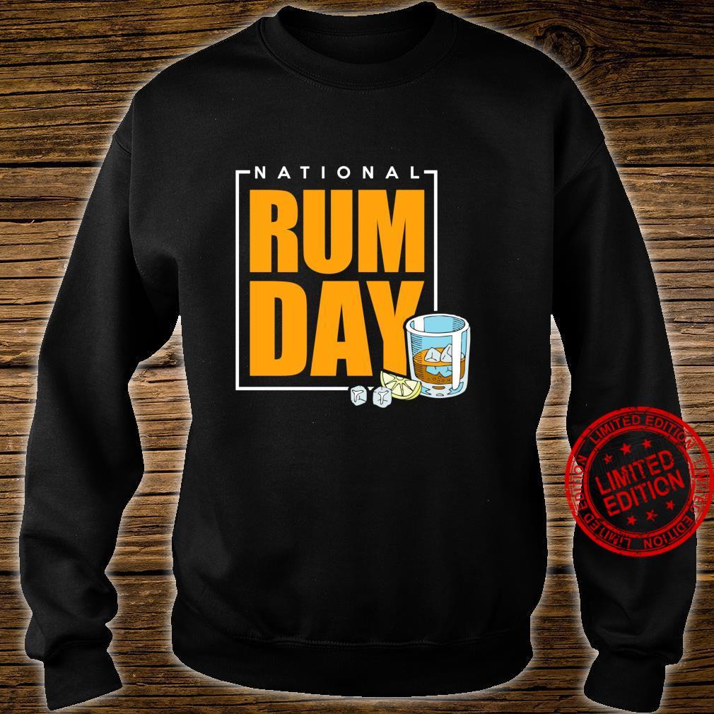 National Rum Day Shirt sweater
