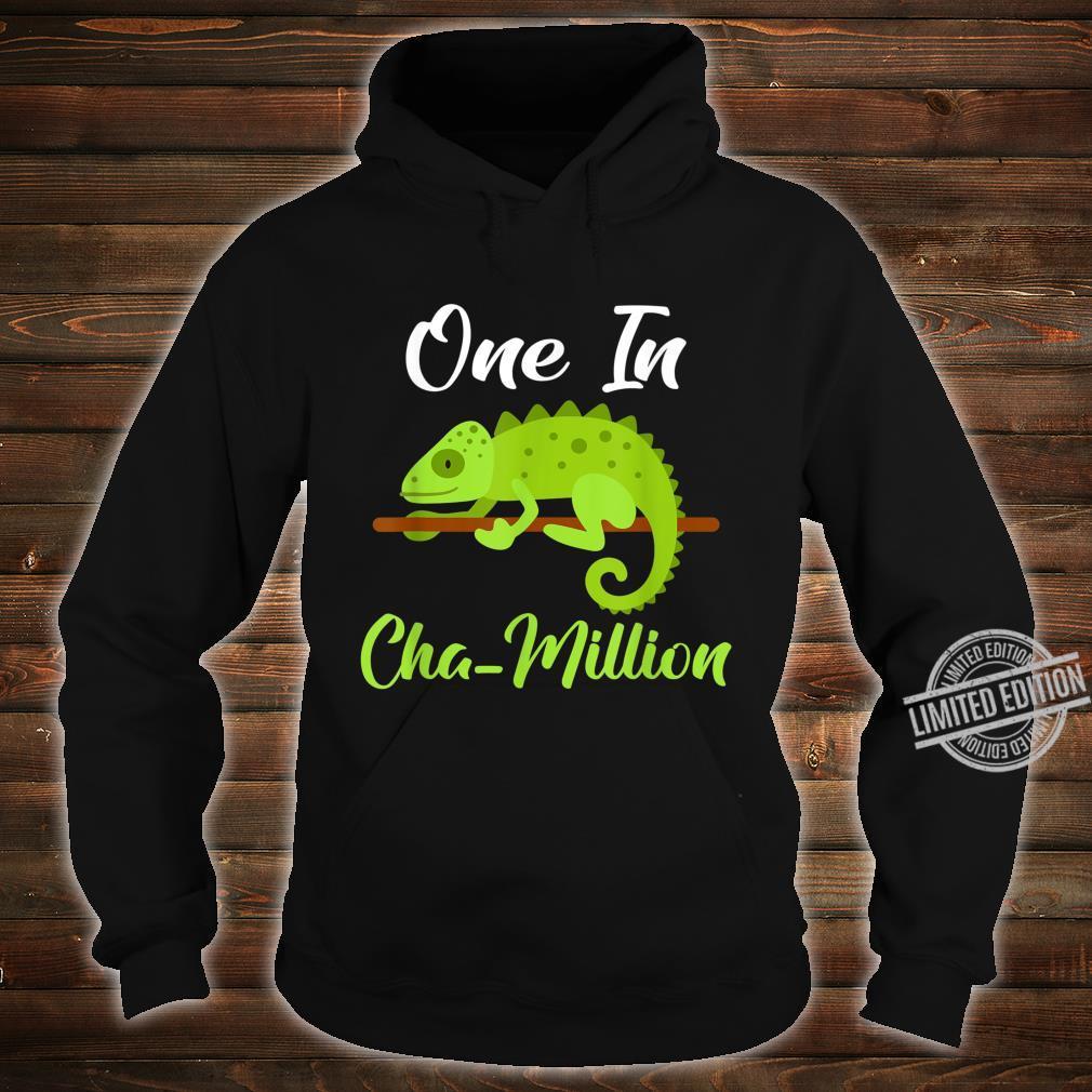 One in Cha million Chameleon Shirt hoodie