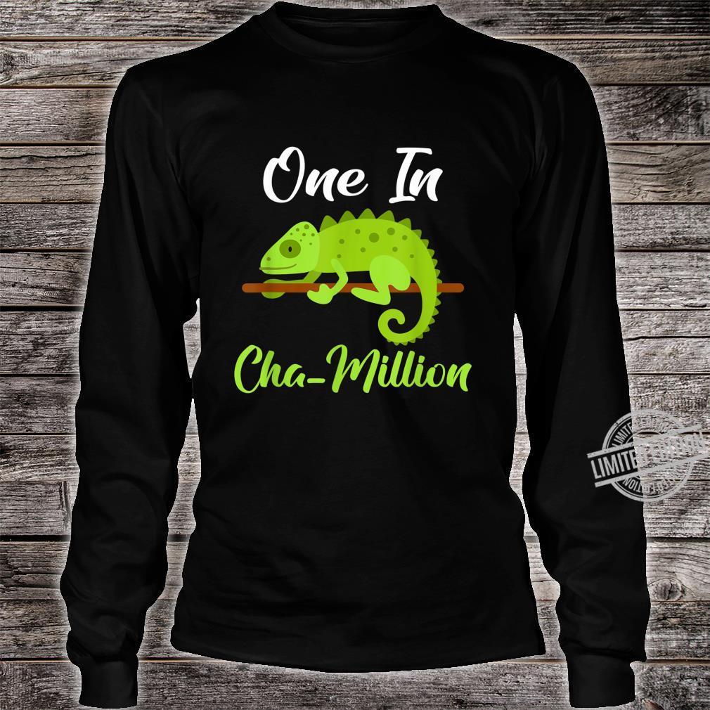 One in Cha million Chameleon Shirt long sleeved