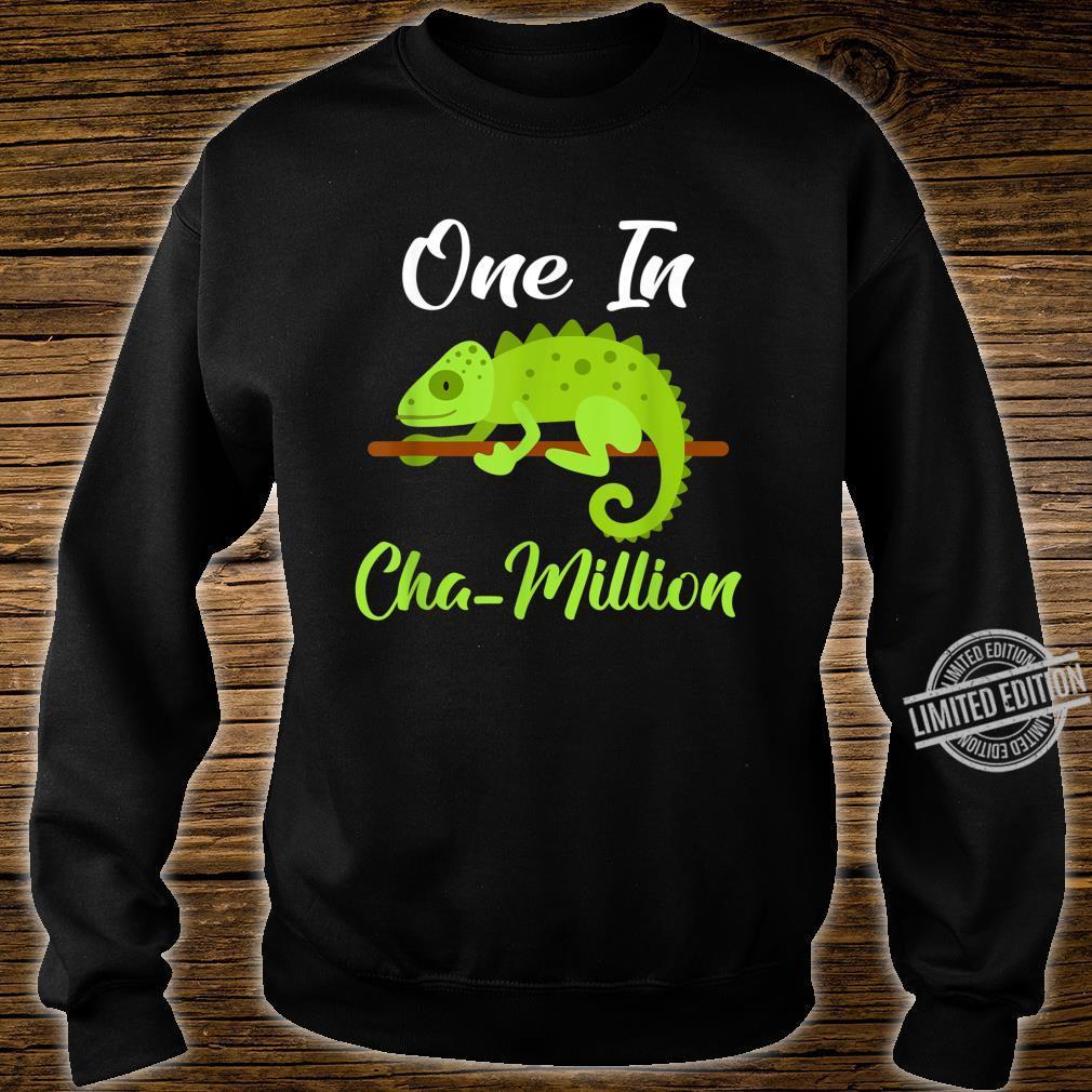 One in Cha million Chameleon Shirt sweater