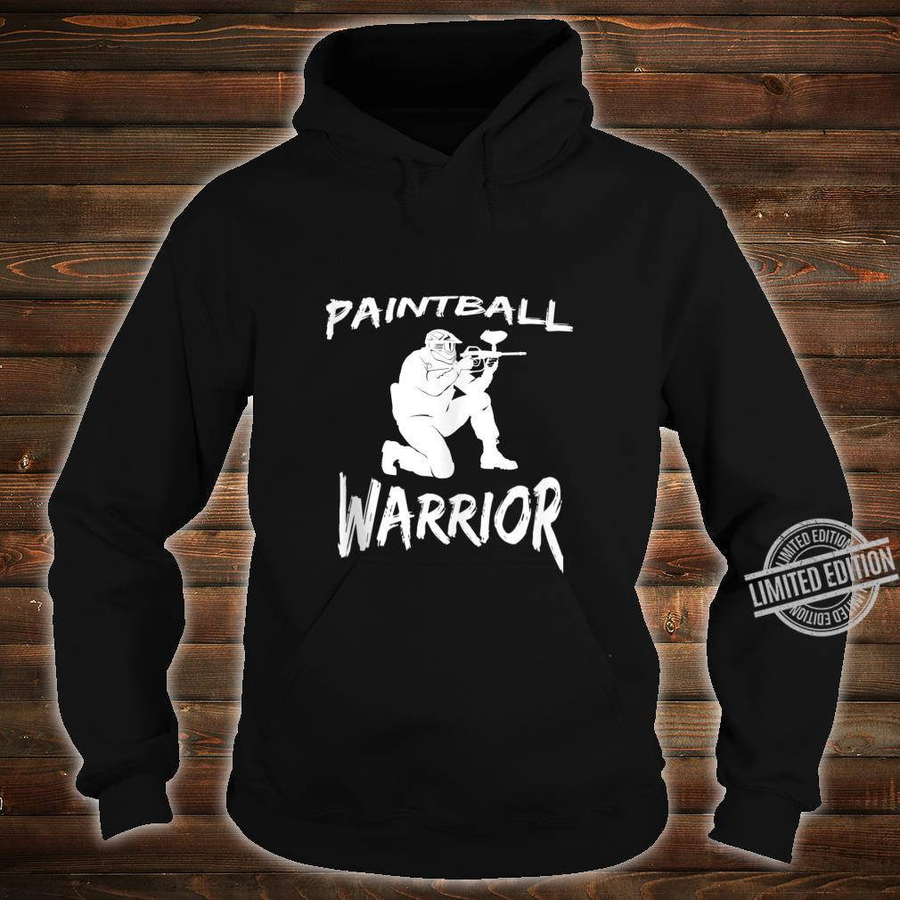 Paintball Squad Player Paintball Warrior Shirt hoodie
