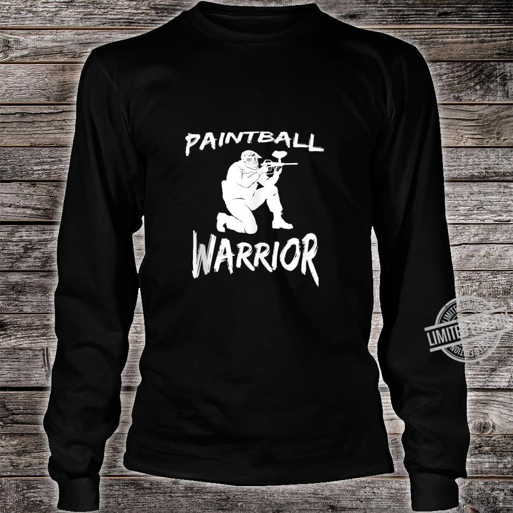 Paintball Squad Player Paintball Warrior Shirt long sleeved