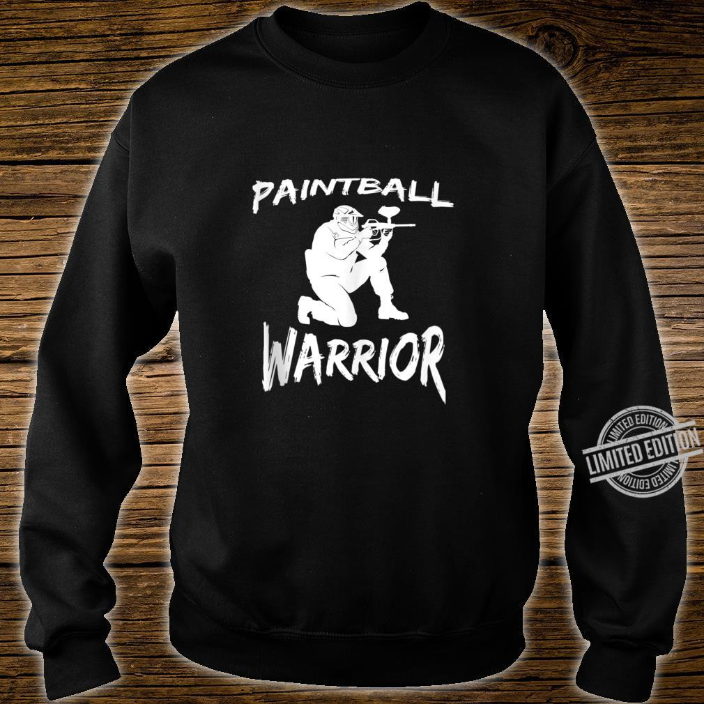 Paintball Squad Player Paintball Warrior Shirt sweater