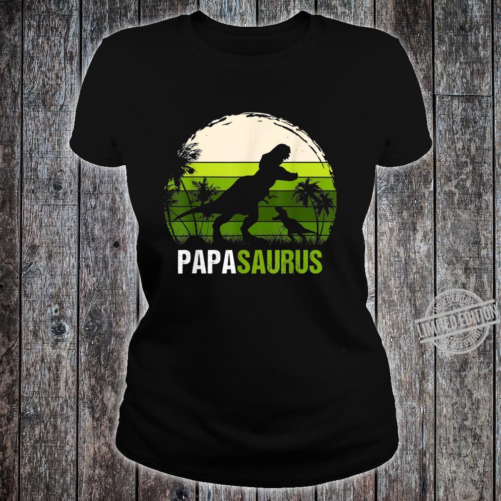Papa Sauru VIntage Shirt ladies tee