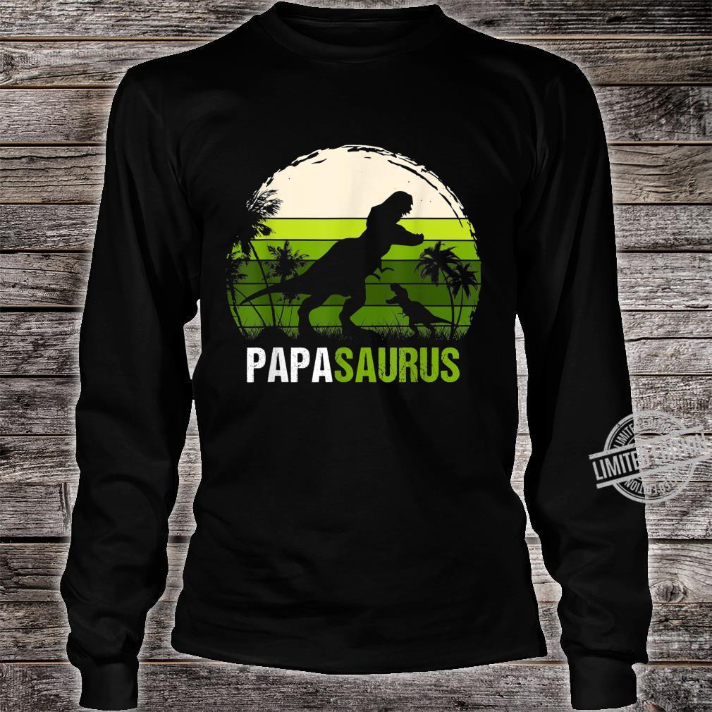 Papa Sauru VIntage Shirt long sleeved