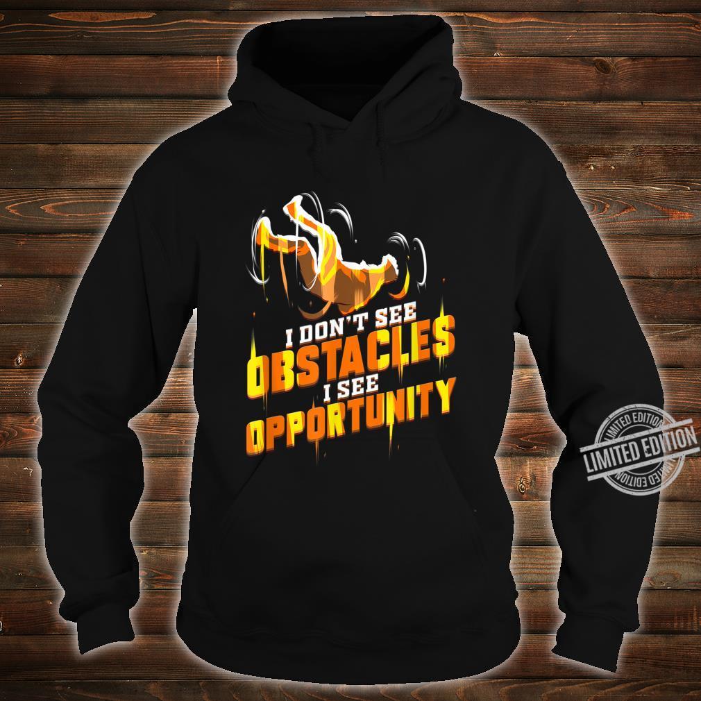 Parkour Läufer Geschenk für Traceur Hindernislauf Shirt hoodie