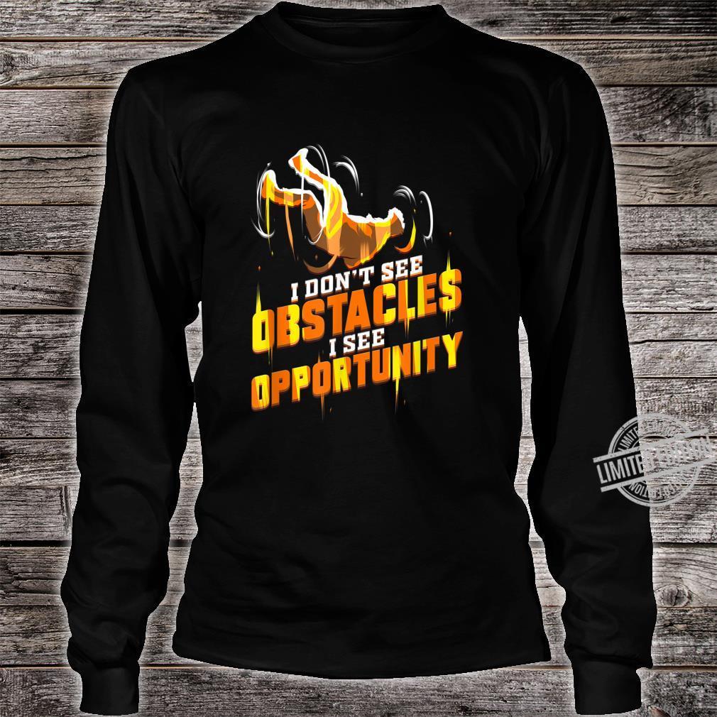 Parkour Läufer Geschenk für Traceur Hindernislauf Shirt long sleeved