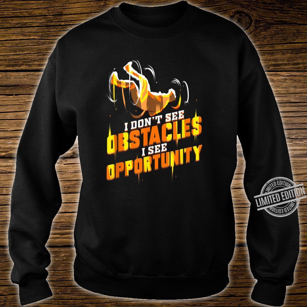 Parkour Läufer Geschenk für Traceur Hindernislauf Shirt sweater