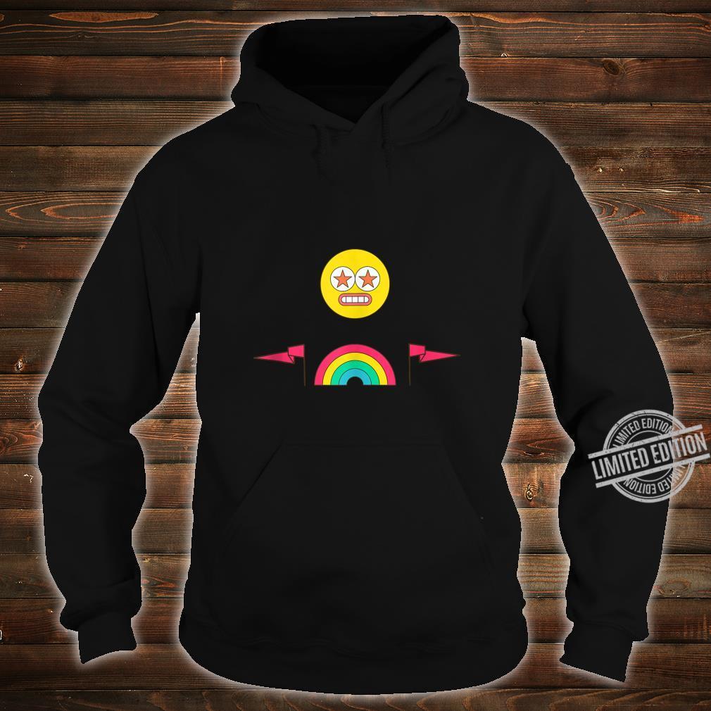 Party Rainbow Emoji Face Festival Design Shirt hoodie