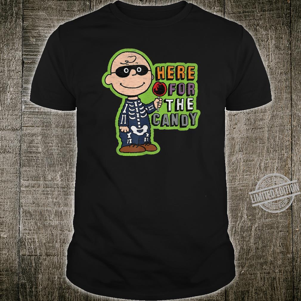 Peanuts Halloween Charlie hier für die Süßigkeit Shirt