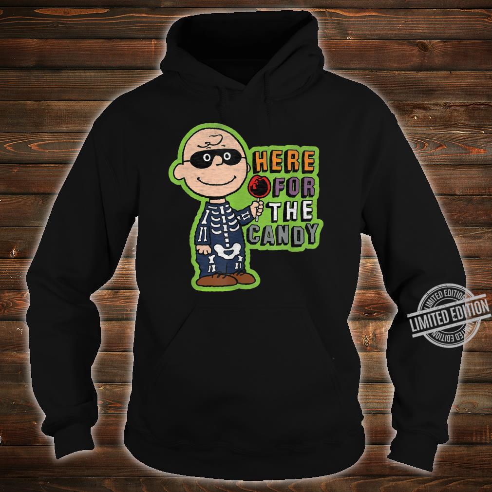 Peanuts Halloween Charlie hier für die Süßigkeit Shirt hoodie