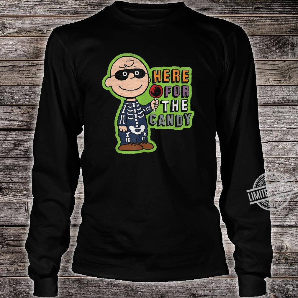 Peanuts Halloween Charlie hier für die Süßigkeit Shirt long sleeved
