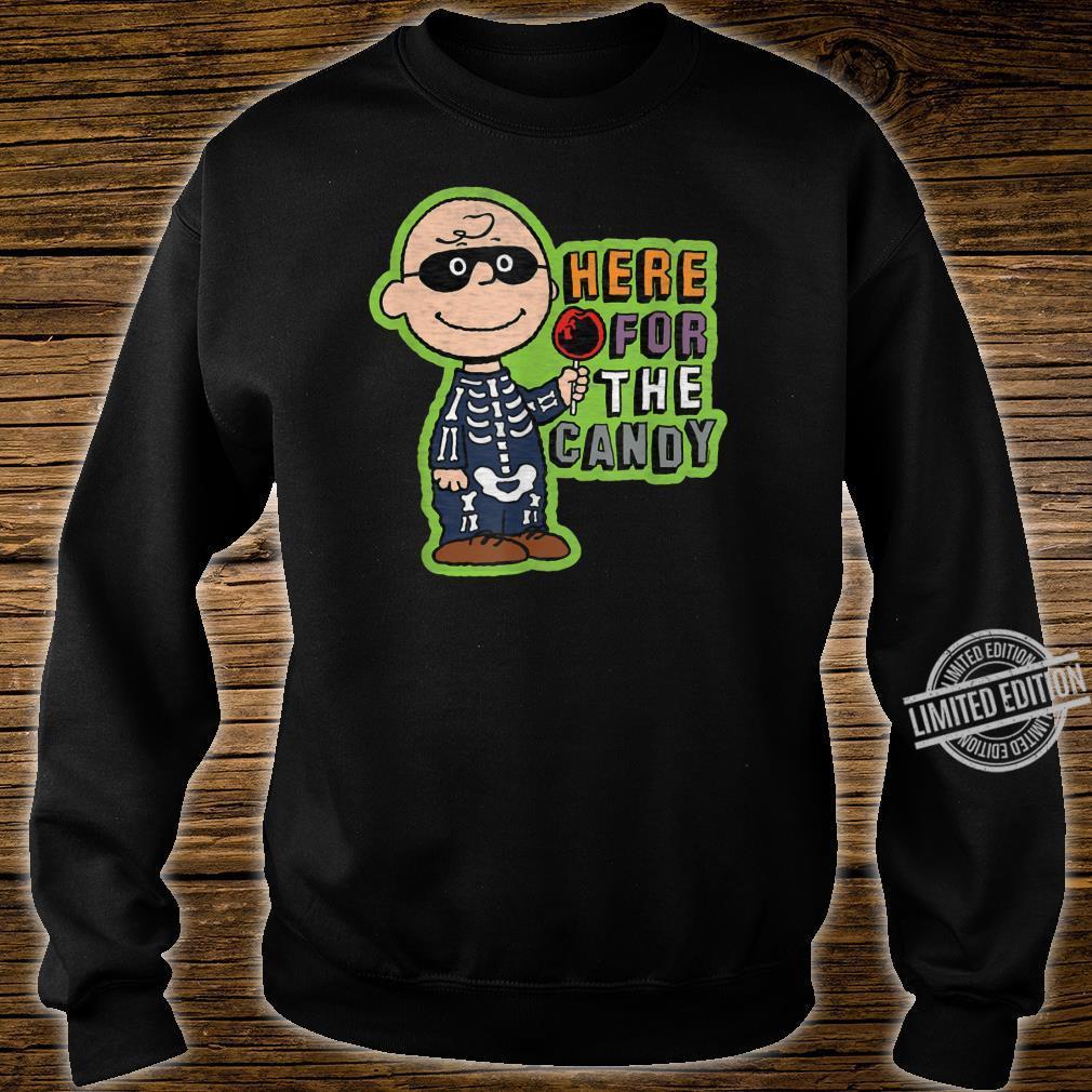 Peanuts Halloween Charlie hier für die Süßigkeit Shirt sweater