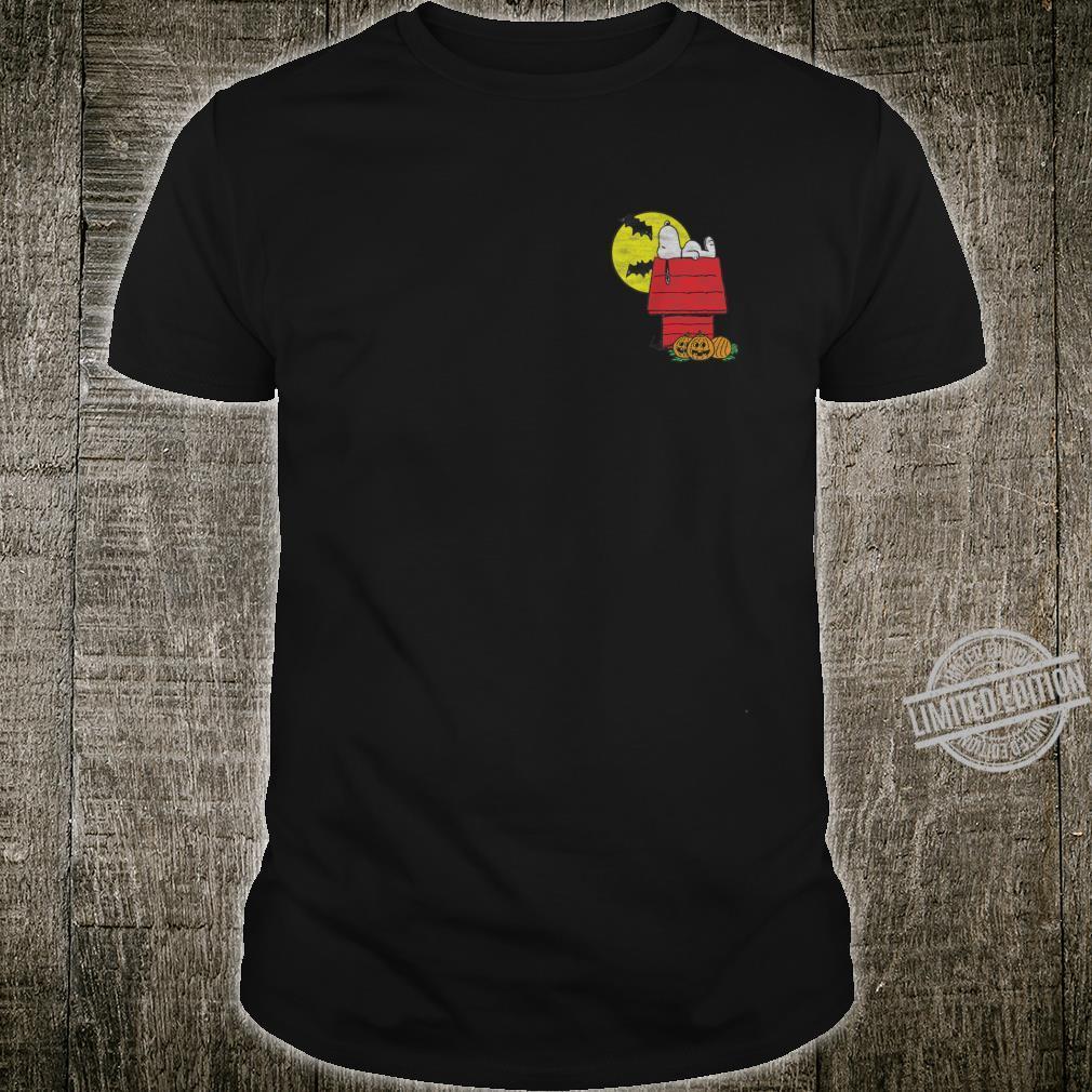 Peanuts Halloween Snoopy Chillin Shirt