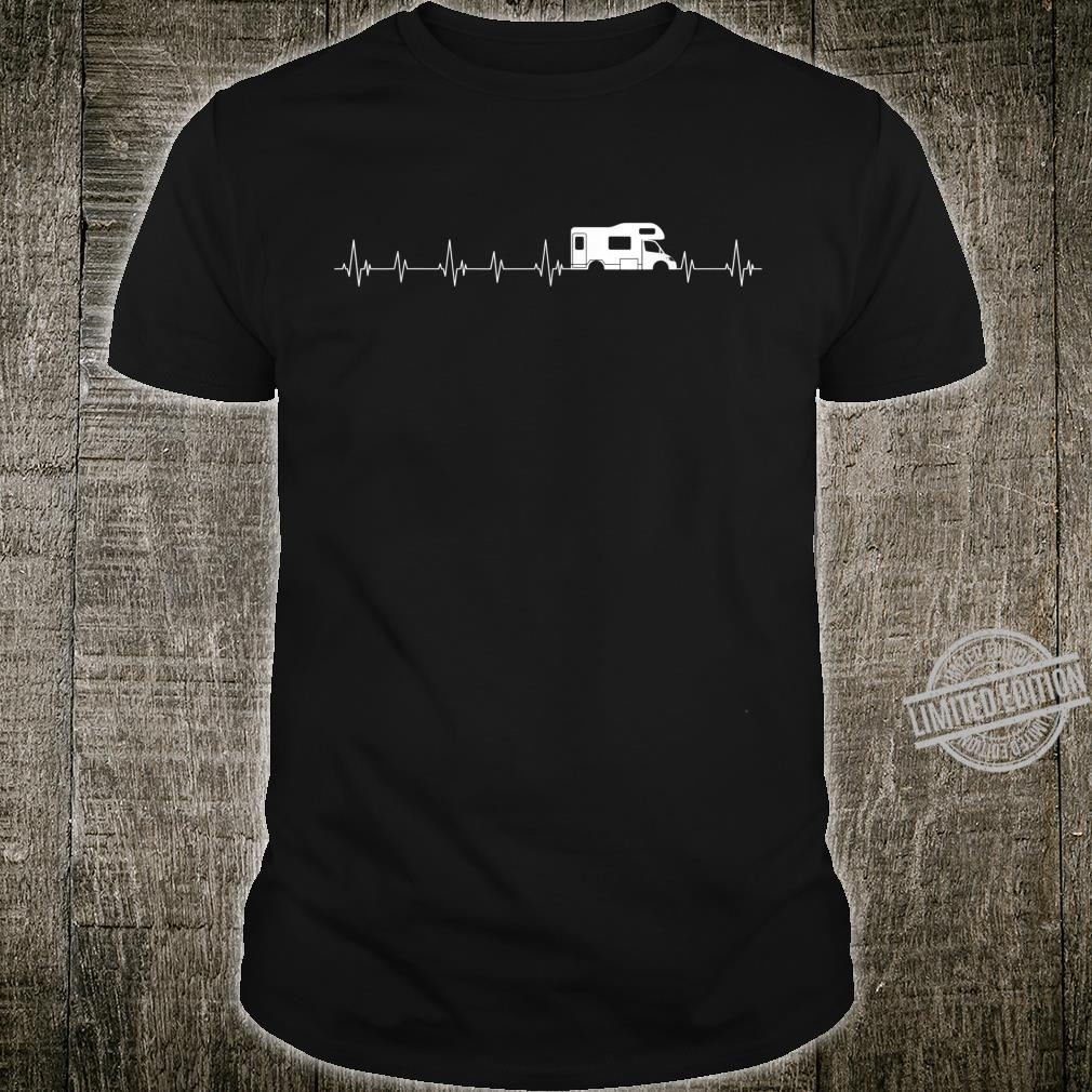 Perfect Camper Heartbeat For Camping Campfires Shirt
