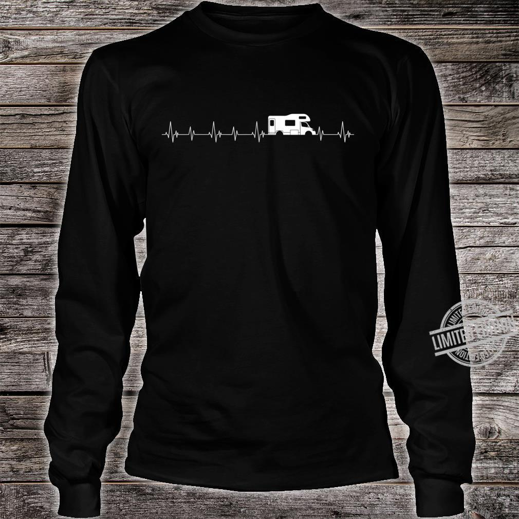 Perfect Camper Heartbeat For Camping Campfires Shirt long sleeved