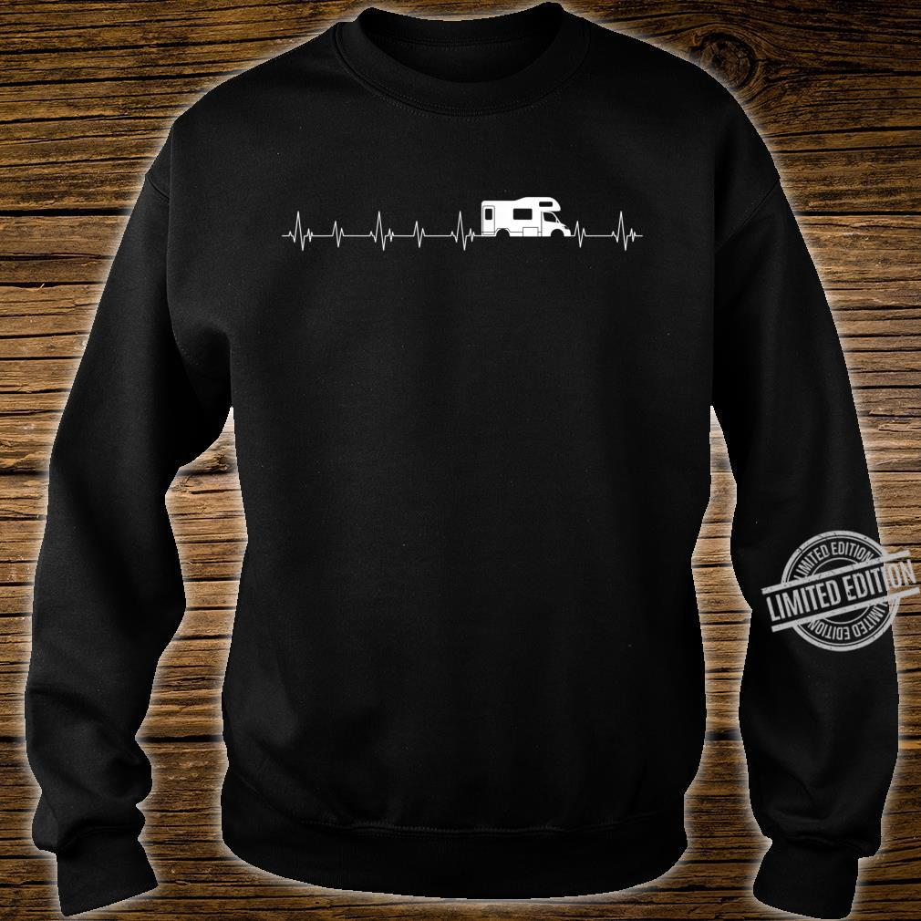 Perfect Camper Heartbeat For Camping Campfires Shirt sweater