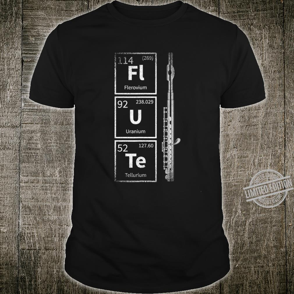 Periodic System Flute Shirt