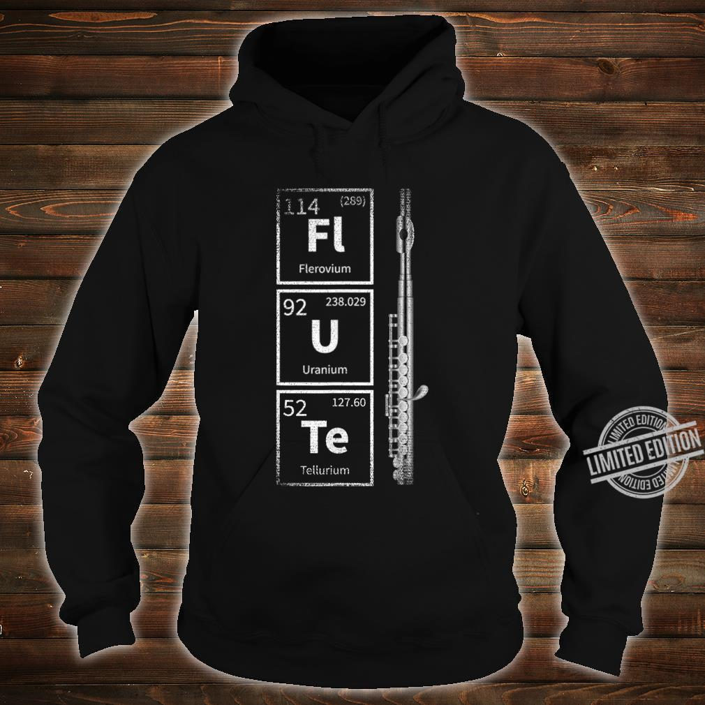 Periodic System Flute Shirt hoodie