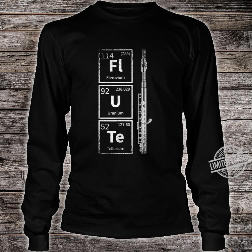 Periodic System Flute Shirt long sleeved