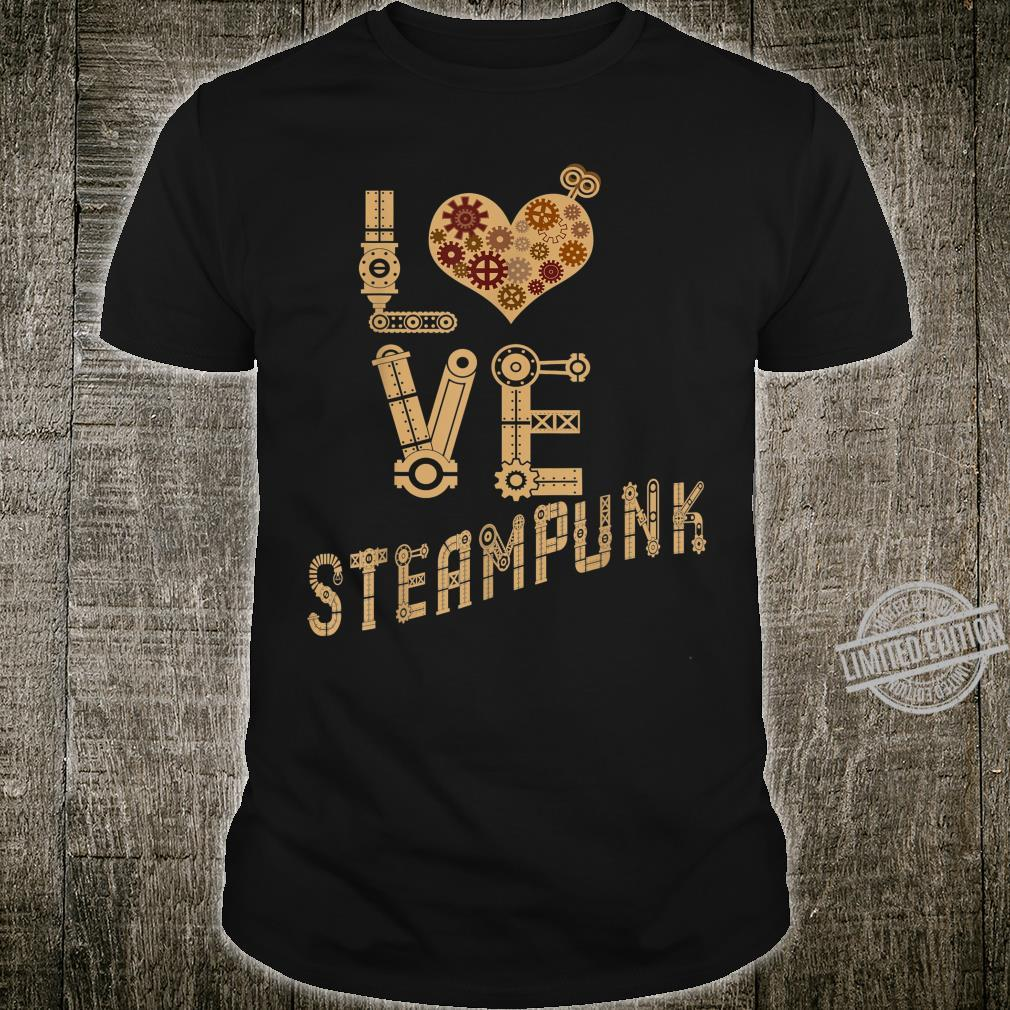 Steampunk Love Science Fiction Mechanic Shirt