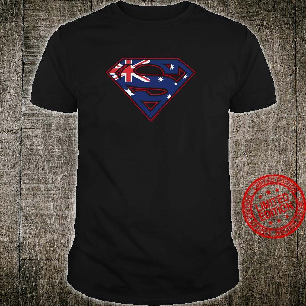 Superman Australian Shield Langarmshirt Shirt