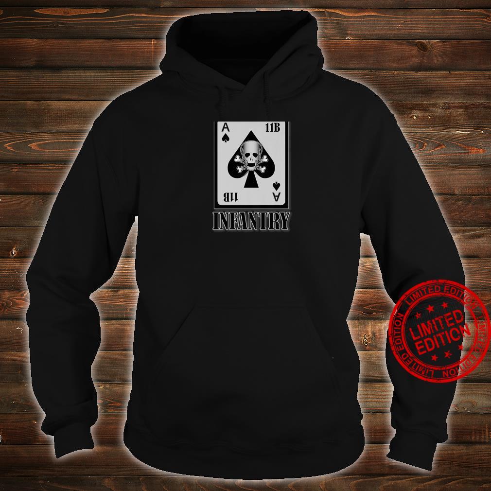 U.S. Army Infantry Back Design Shirt hoodie